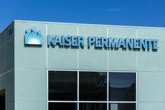Kaiser Permanente medicinsk vårdbyggnad Royaltyfria Bilder