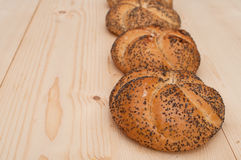 Kaiser Rolls Royalty Free Stock Images