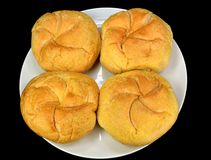 Kaiser rolls Royalty Free Stock Photos