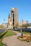 Kaiser Wilhelm纪念教会在柏林,德国 免版税库存照片