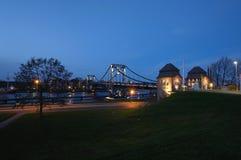 Kaiser-Wilhelm-мост Стоковое Изображение RF