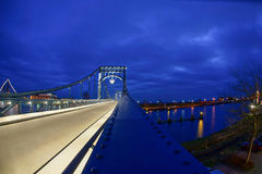 Kaiser Wilhelm Bridge imagens de stock