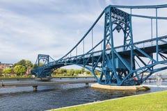 Kaiser Wilhelm Bridge en Wilhelmshaven imagenes de archivo