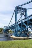 Kaiser Wilhelm Bridge a Wilhelmshaven, Germania fotografia stock