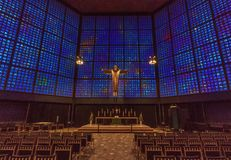 The Kaiser Wilhelm Church of Berlin royalty free stock images