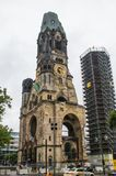 Kaiser Wilhelm Denkmal-Kirche stockfotos