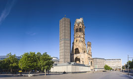 Kaiser-Wilhelm-Gedächtnis-Kirche, Berlin Stock Photo
