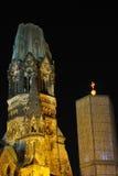 Kaiser Wilhelm, Ged?chtnis Kirche Immagine Stock
