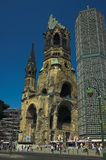 Kaiser Wilhelm Memorial Church Royalty Free Stock Photos