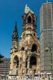 Kaiser Wilhelm Memorial Church Royalty-vrije Stock Foto