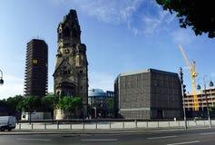 Kaiser Wilhelm Memorial Church Royalty Free Stock Image