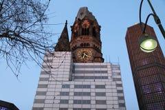 Kaiser Wilhelm Memorial Church Berlin, Alemania foto de archivo