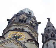 Kaiser wilhelm memorial church in berlin Royalty Free Stock Photo