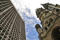 Kaiser Wilhelm Memorial Church, Berlin Royalty Free Stock Photo