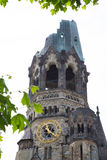 Kaiser Wilhelm Memorial Church in Berlin Royalty Free Stock Photography