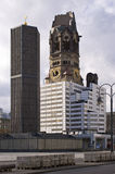 Kaiser Wilhelm Memorial Church, Berlin, Germany Stock Images