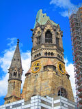 Kaiser Wilhelm Memorial Church, Berlin Germany Royaltyfria Foton