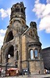 Kaiser Wilhelm Memorial Church, Berlin Germany stockbilder