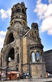 Kaiser Wilhelm Memorial Church, Berlin Germany images stock