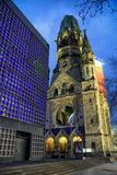 Kaiser Wilhelm Memorial Church in Berlin, Germany Stock Photography