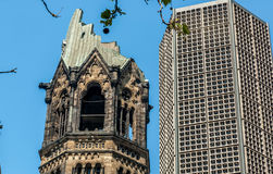 Kaiser Wilhelm Memorial Church Royalty Free Stock Photo