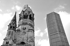 The Kaiser Wilhelm Memorial Church Stock Photo