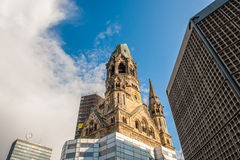 Kaiser Wilhelm Memorial Church, Berlin Royalty Free Stock Photos
