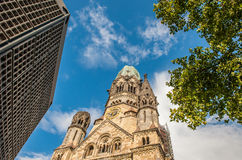 Kaiser Wilhelm Memorial Church, Berlin Royalty Free Stock Photography