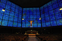 Kaiser Wilhelm Memorial Church Interior Royalty Free Stock Image
