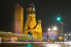 Kaiser Wilhelm Memorial Church Royalty Free Stock Images