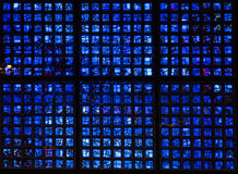 Kaiser Wilhelm Memorial glass Royalty Free Stock Image