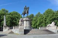 Kaiser Wilhelm Monument in Stuttgart, Deutschland Lizenzfreie Stockfotografie
