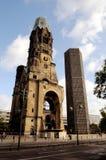 Kaiser Wilhelm Pamiątkowy kościół w Berlin, Germany obrazy stock