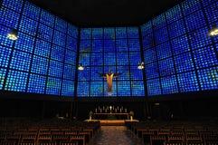 Kaiser Wilhelm Pamiątkowy Kościelny wnętrze Obraz Royalty Free