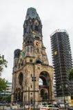 kaiser Wilhelm pamięci do kościoła zdjęcia stock
