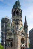 kaiser Wilhelm pamięci do kościoła zdjęcia royalty free
