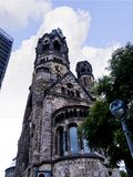 Kaiser Willhelm Gedachtnis Kirche在柏林德国 库存图片