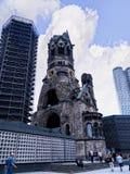 Kaiser Willhelm Gedachtnis Kirche在柏林德国 免版税库存照片