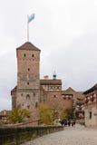 Kaiserburg castle Stock Images