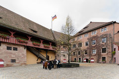 Kaiserburg castle Stock Images