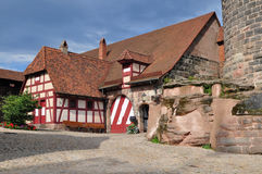 Kaiserburg castle in Nuremberg Royalty Free Stock Images