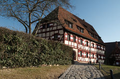 Kaiserburg Courtyard Stock Photography