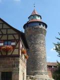 Kaiserburg-Nürnberg Lizenzfreie Stockfotografie