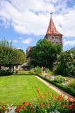 Kaiserburg - Nürnberg/Nürnberg, Deutschland lizenzfreie stockbilder