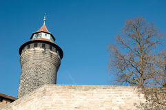 Kaiserburg, Nuremberg Castle Royalty Free Stock Photography