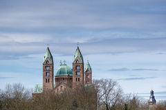 Kaiserdom Speyer fotografia stock libera da diritti