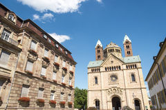 The Kaiserdom at Speyer Germany in summer Royalty Free Stock Photography