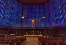 Kaiseren Wilhelm Church av Berlin royaltyfria bilder
