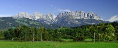Kaisergebirge, Tirol, Oostenrijk Royalty-vrije Stock Foto