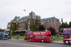 Kaiserin-Hotel, Victoria, Britisch-Columbia, Kanada lizenzfreie stockbilder